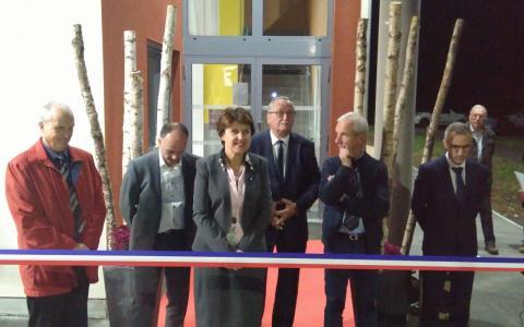 Inauguration du nouveau bâtiment scolaire